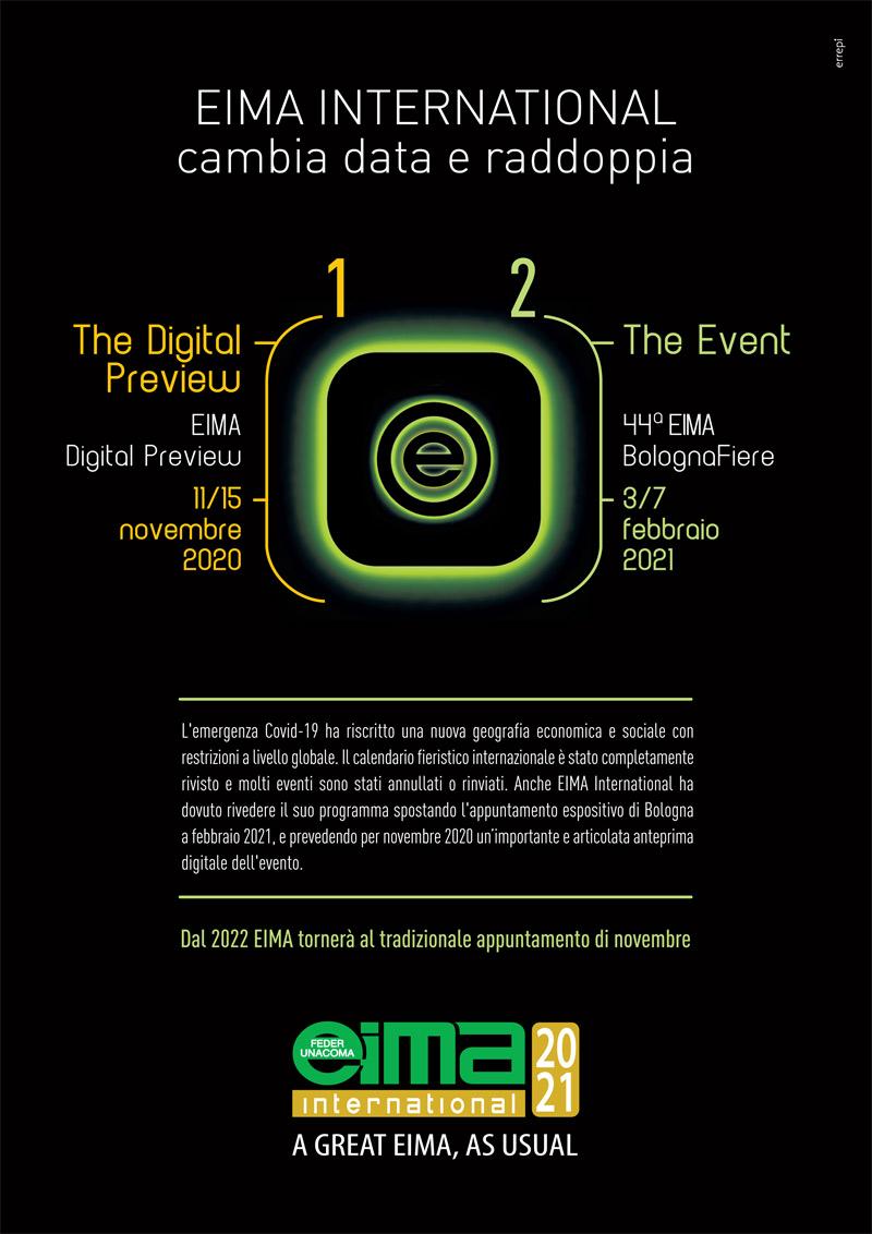eima international 11-15 novembre 2020